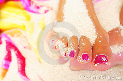 Foot And Pedicure Stock Photos - Image: 10760293