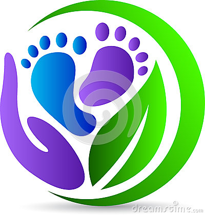 Free Foot Print Care Royalty Free Stock Photography - 31305377