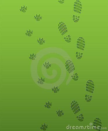 Free Foot Prints Stock Photography - 18897372