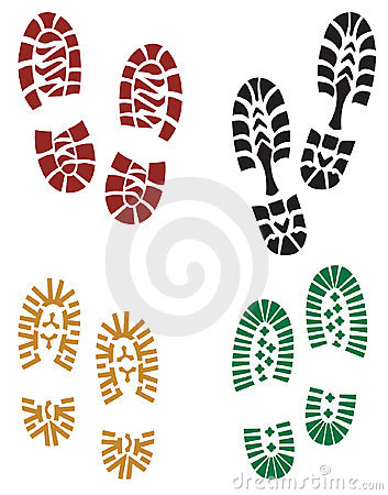 Free Foot Prints Royalty Free Stock Image - 758796