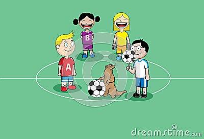 Footbal kids