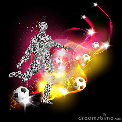 Football art background