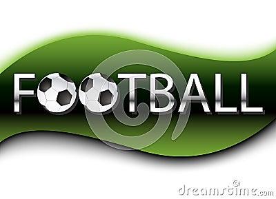 Football Background. Vector