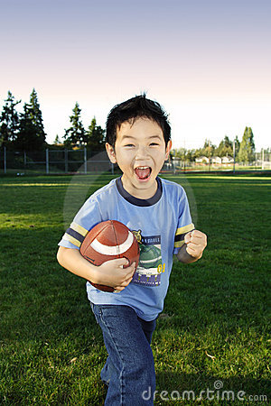 Free Football Boy Stock Image - 1287261