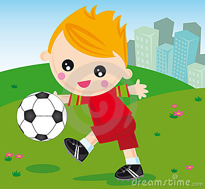Free Football Boy Stock Photos - 6964913
