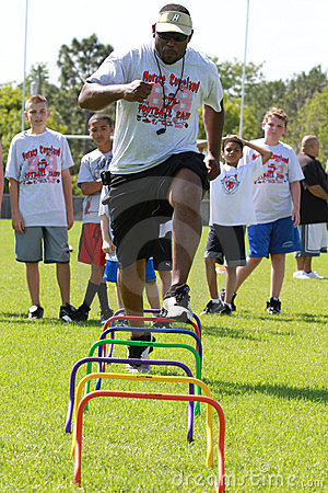 Football Camp Editorial Image