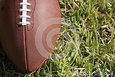Football close up