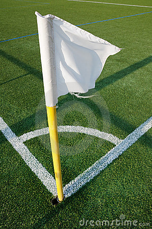 Football corner arc