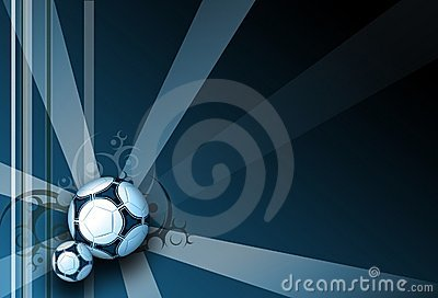 Football dark blue elegance background