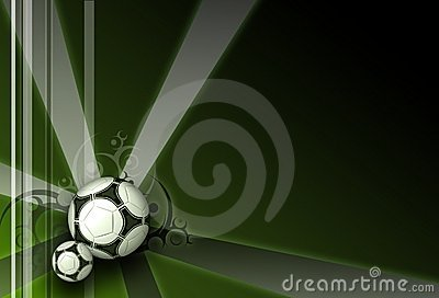 Football dark green elegance background
