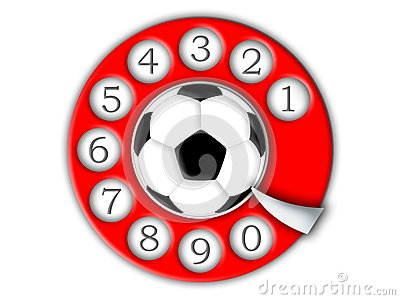 Football and dial