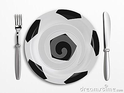 Football dish
