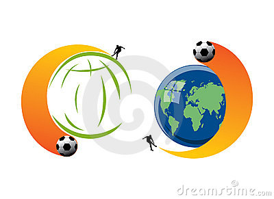 Football excitement in World Cup 2010