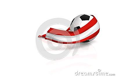 Football fan Austria