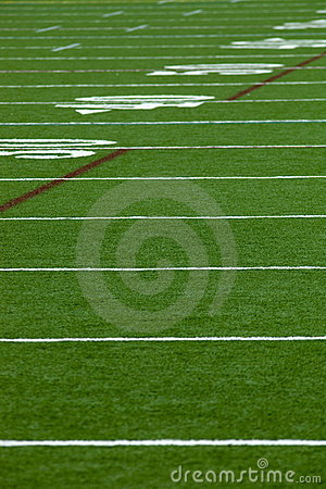Free Football Field Royalty Free Stock Photo - 10696365