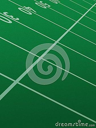 Free Football Field. Royalty Free Stock Photos - 1578198