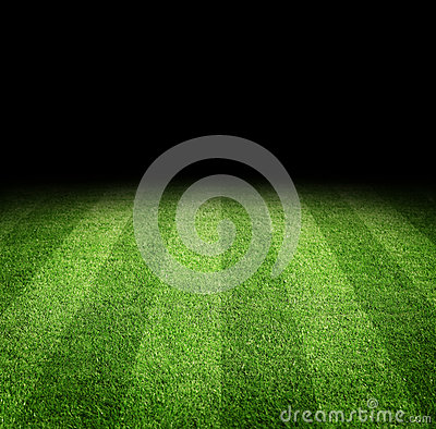 Free Football Field Background Royalty Free Stock Photography - 33499417