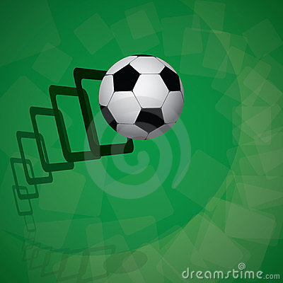 football frames cdr format stock vector image 39007932
