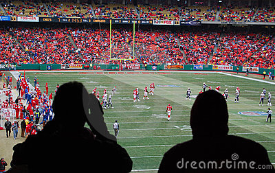 Football Game Editorial Image