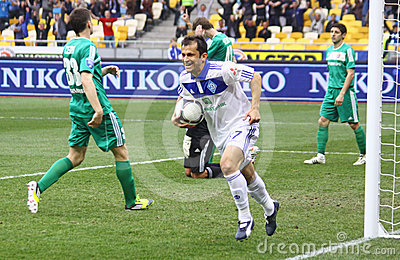 Football game Dynamo Kyiv vs Vorskla Poltava Editorial Photo