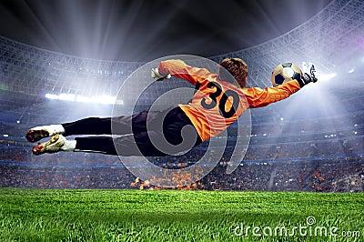 Football goalman