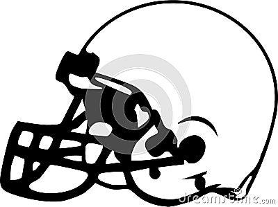 Football Helmet Drawing