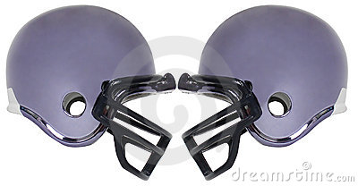 Football helmet five