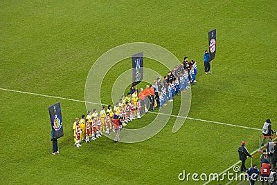 Football Idols - Football-kids Editorial Photo