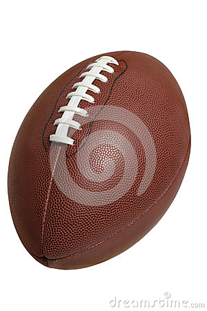 Football Isolated On White With Clipping Path Royalty Free Stock Photo - Image: 26439195