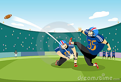 Football kick-off