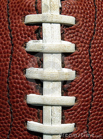 Free Football Laces Stock Image - 190711
