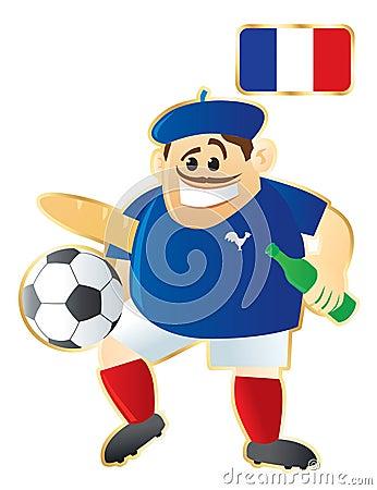 Football mascot France