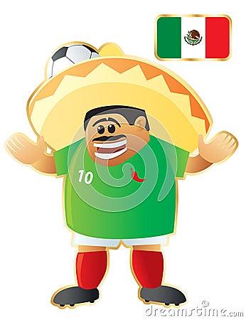 Football mascot Mexico