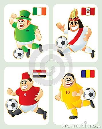 Football mascots IRL PER EGY ROM