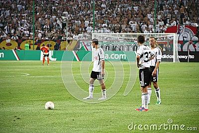 Football match Editorial Photography