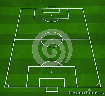 Football Pitch Stock Image - Image: 1776061