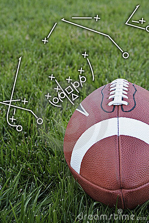 Free Football Playbook Royalty Free Stock Images - 3023279