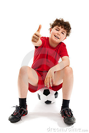 Free Football Player Stock Photography - 13408772