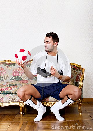 Football player hamlet doubt