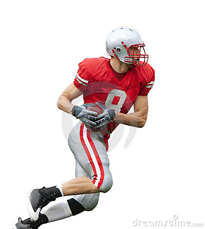 Free Football Player Isolated Stock Images - 20823924