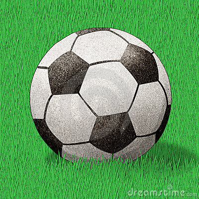 Football  recycled paper craft stick