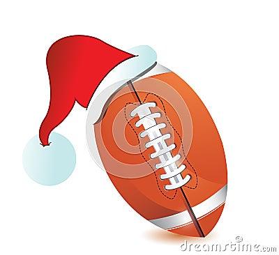 Football Santa Cap