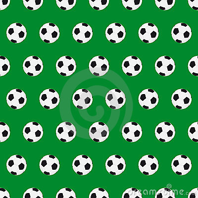 Football seamless background