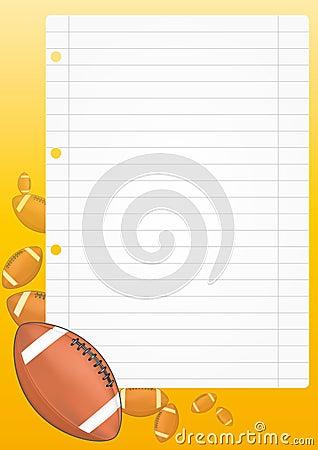 Football sheet