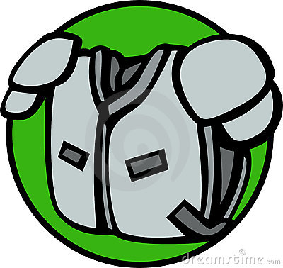 football shoulder pads vector illustration