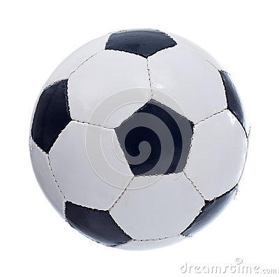 Football Or Soccer Ball Royalty Free Stock Images - Image: 24999609