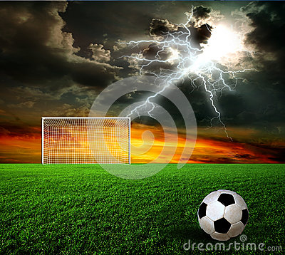 Football, Soccer Ball Stock Image - Image: 26086341
