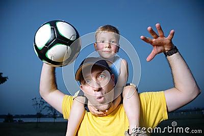 Football soccer fans