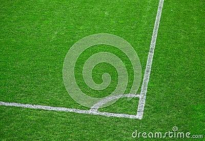 Football (soccer) field corner