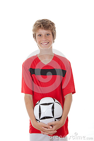 Football soccer player